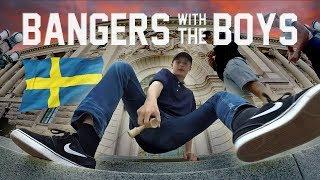 BANGERS with the BOYS  Edvin  Lukas Ep3  Kendama  Stockholm Sweden