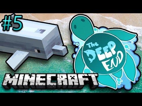 Minecraft: The Deep End Ep. 5 - Nether Fail