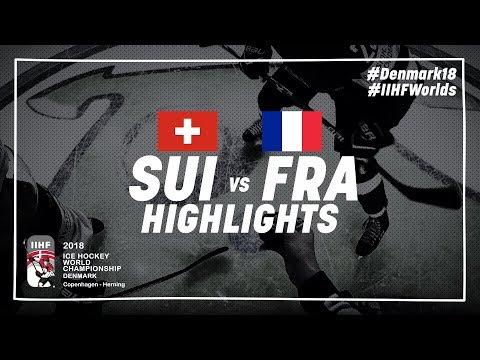Game Highlights: Switzerland vs France May 15 2018 | #IIHFWorlds 2018