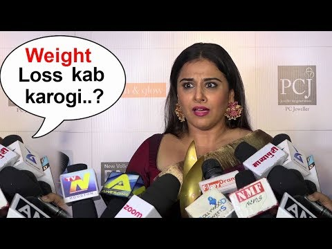 ANGRY Vidya Balan's BEST Reply To Reporter Calling Her FAT In Public