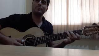 Dando uma improvisada na viola - Música: Wave (Tom Jobim)