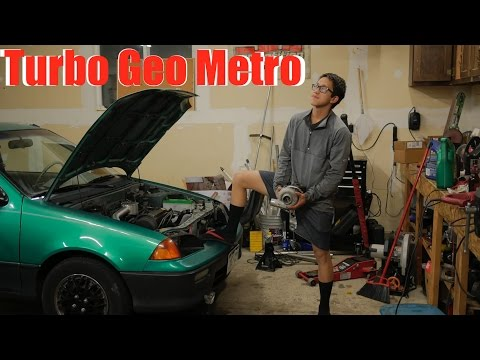 Turboing A Car For $100 In A Day!