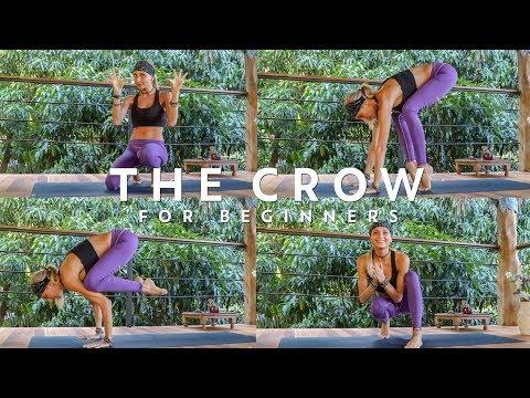 Crow Pose ♥ How To Do The Crow Pose Tutorial
