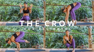 Crow Pose  How To Do The Crow Pose Tutorial