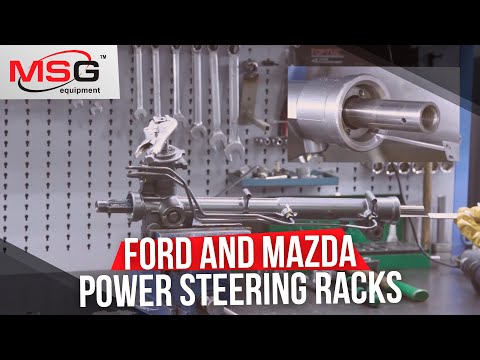 How to repair Ford and Mazda power steering racks