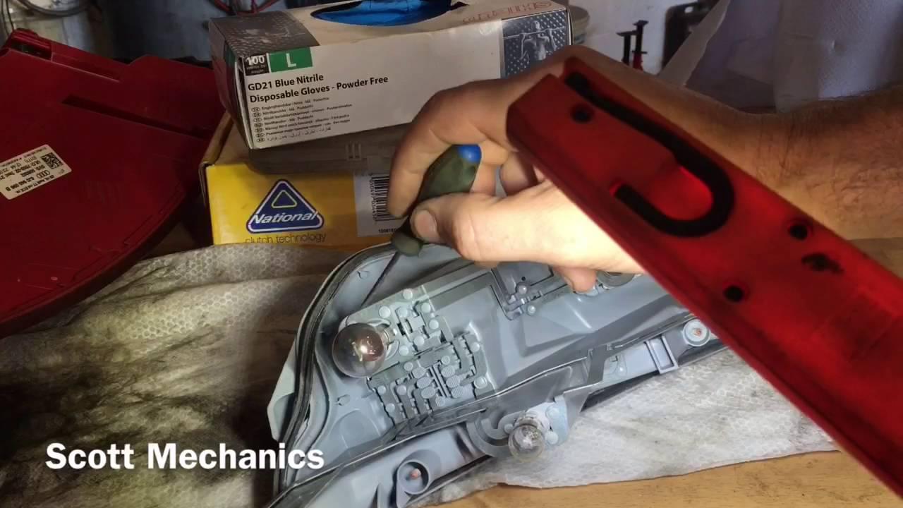 medium resolution of audi tt rear light removal and fix by scott mechanics used power probe hook good tool