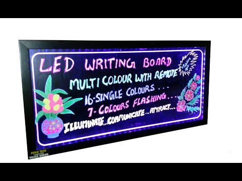 LED Writing Board Dealers And Suppliers In Chennai(சென்னை).