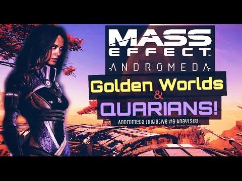 Mass Effect Andromeda - Golden Worlds & Quarians - Andromeda Initiative Analysis!
