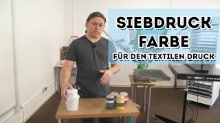 Siebdruckfarbe für den textilen Siebdruck - Plastisolfarbe oder Wasserfarbe?