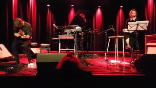 Nina Persson & Martin Hederos - Teclo (P.J. Harvey) - Bremen, 9. maj 2017