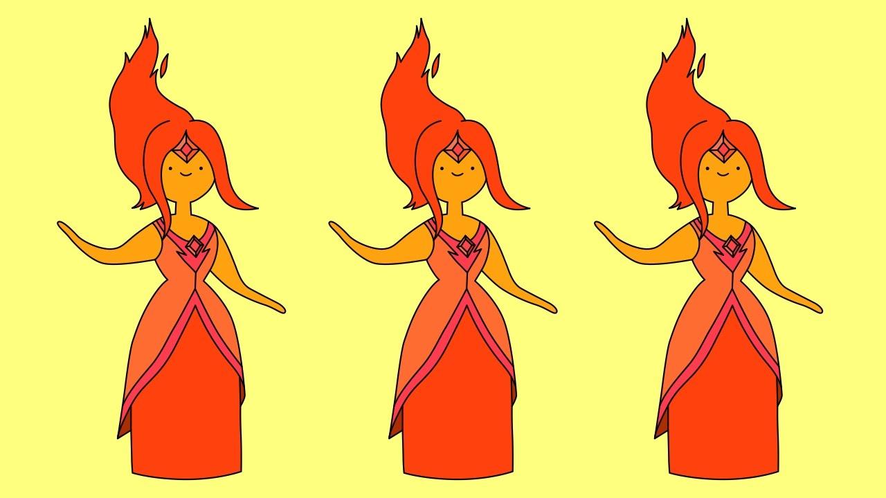 how to draw adventure time flame princess wwwpixshark