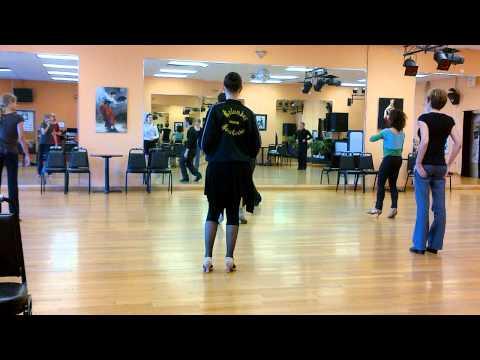 Advance Latin Technique Class - Warm-up - Columbus Dance Centre