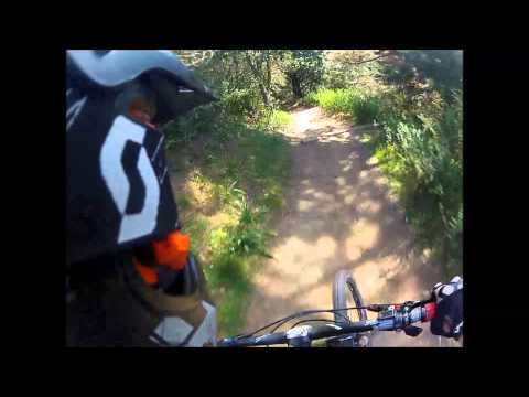 GoPro Helmet Cam- DH Mountain Biking Chaparral And Cinderella