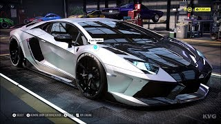 Need for Speed Heat - Lamborghini Aventador S 2018 (Mansory) - Customize | Tuning Car HD