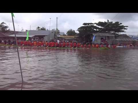 lễ đua ghe ngo tại huyện hồng dân, bạc liêu năm 2013