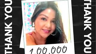 100K Subscribers | YouTube | YouTube India | Choreographer | Content Creator | Happiest | Gratitude