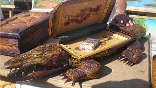 Шедевры сделанные руками зеков Нарды чётки шахматы