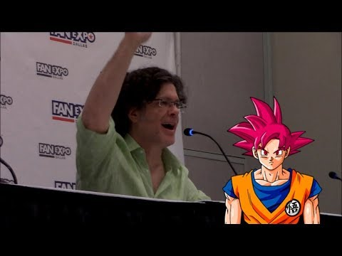 Ask Goku! Q & A with Sean Schemmel at Fan Expo Dallas 2018
