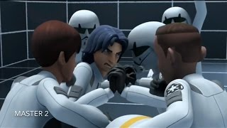 [Ezra train's in the Imperial Academy] Star Wars Rebels Season 1 Episode 6 [HD]