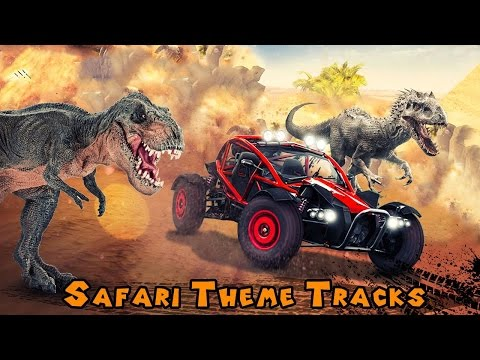 Dino World Car Racing (By Free Games Arcade) Android Gameplay HD