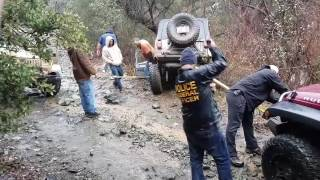 Jeep Rescue on the Back Way To Crown King