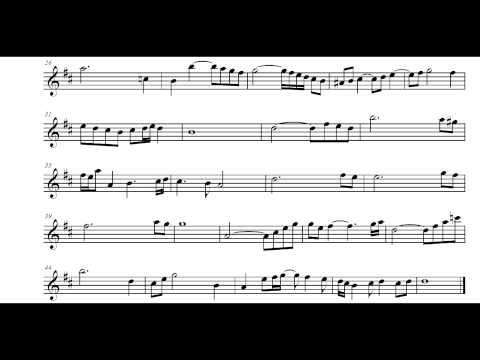 Air - Bach [Play Along] [B♭ sheet music]