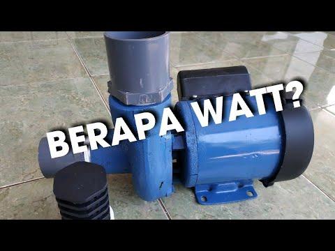 Berapa Watt Pompa Air Modifikasi 125 Youtube