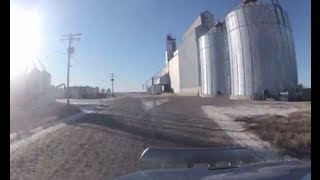 Hauling Grain To and From The Elevator