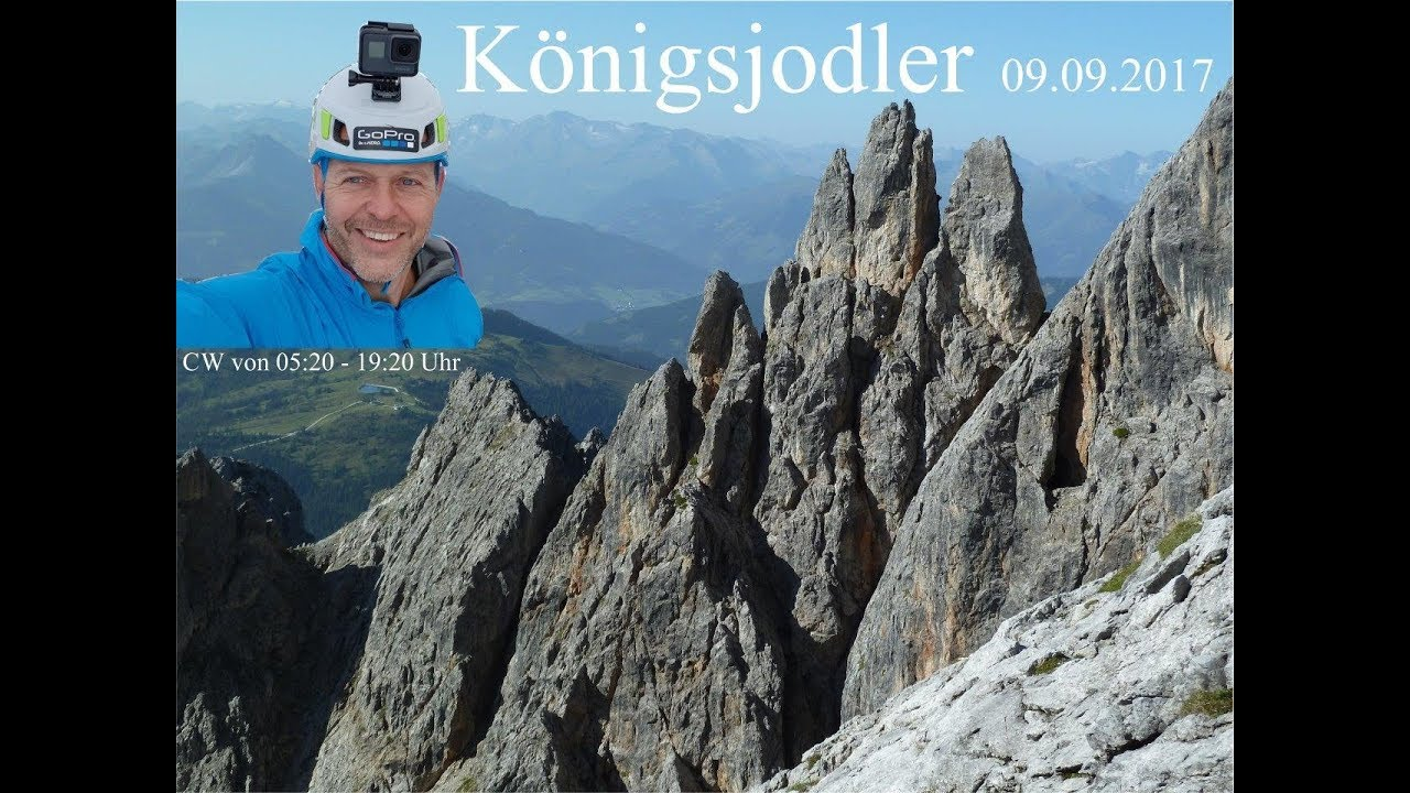 Klettersteig Königsjodler : Klettersteig königsjodler m tour