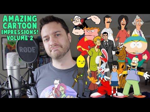 Amazing Cartoon Impressions Volume 2