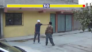 street fighter CHIMALHUACAN VERSION || pelea de borrachos