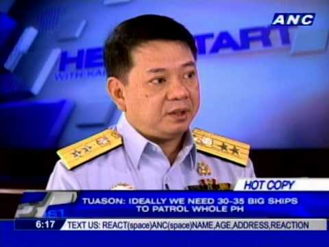 Securing the country's seaboards, keeping order during Undas