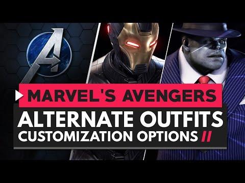 MARVEL'S AVENGERS | New Alternate Costumes - Hero Customization