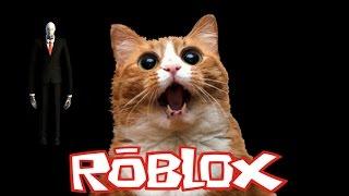 [Roblox] แมวโหด กับ Slender man Feat. Guardian tv. แหบแห้ว Progress89