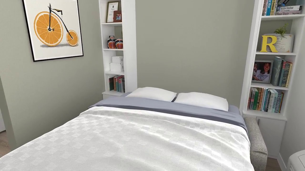 The real core spaces murphy bed 30 studio youtube the real core spaces murphy bed 30 studio amipublicfo Images