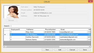 CRUD Operations: How to Insert Delete Update Select with Microsoft ...
