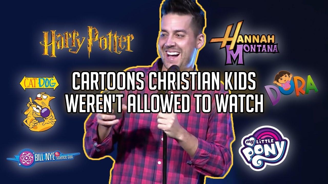 Cartoons Christian Kids Weren't Allowed to Watch