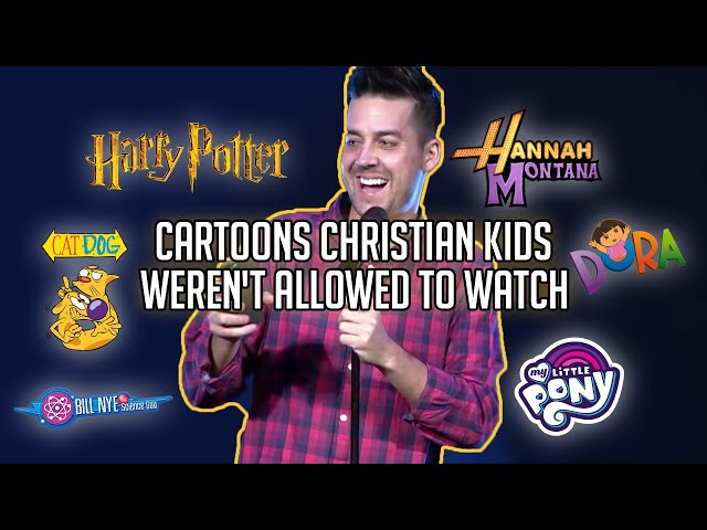 Cartoons Christian Kids Weren't Allowed to Watch