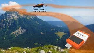 AR.Drone 2.0 Flight Recorder GPS (CES 2013 Preview)