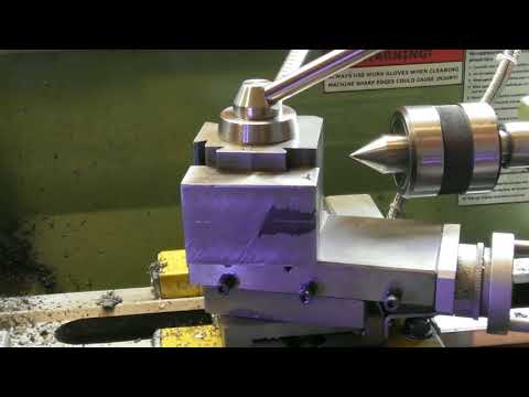 WARCO LATHE Shop made quick change tool post part 16.