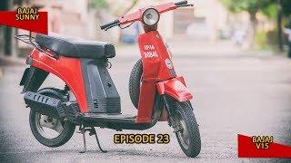 #100Motorcycles: Episode 23: Bajaj Sunny & Bajaj V15