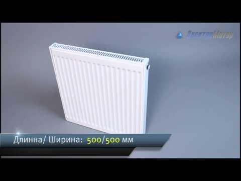 Радиатор стальной  Quinn Quattro K11 500x500