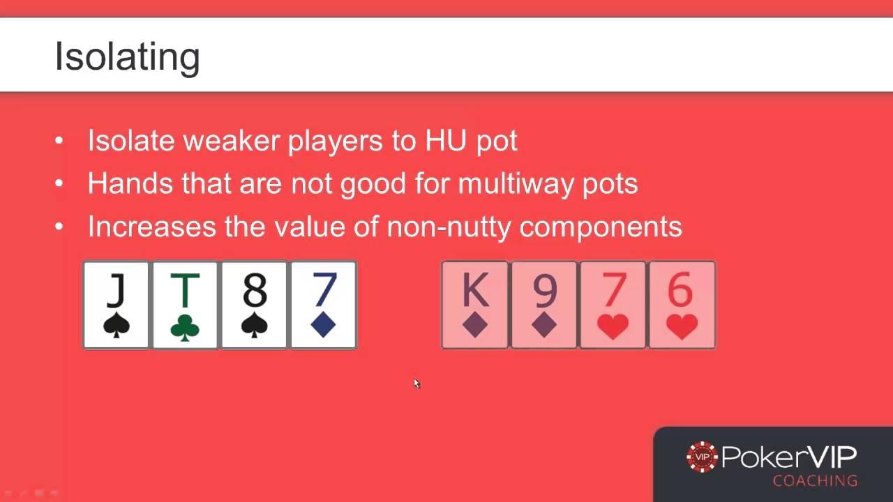 PLO Pro Poker Strategy - 3 Betting Ranges