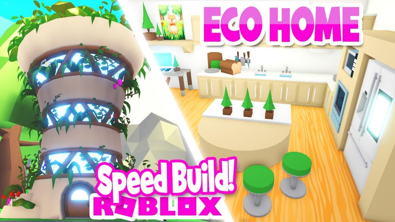 *COZY ECO HOME* Speed Build 🍃ADOPT ME (roblox)