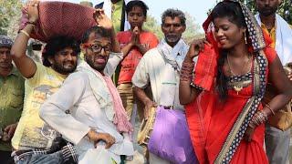 #चिरकुटवा बना नाच के लवनडा घुरेठना के भखवती में || पखावज धोबी डान्स पे हुआ हडकंप || #Bhojpuri Comedy