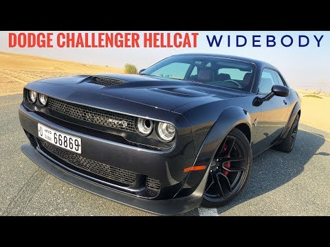 2019 Dodge Challenger Hellcat Widebody: A muscle car that handles?
