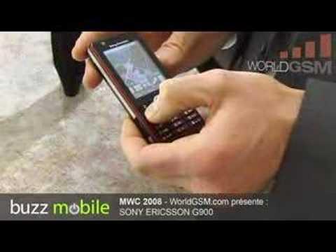 MWC 2008 : SONY ERICSSON G900