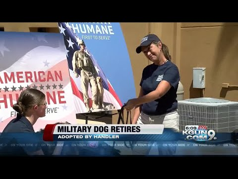 Staff Sgt. reunited with her military dog for life
