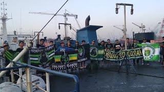 Bonek Away Banjarmasin - Barito Putera vs Persebaya