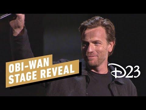 Obi-Wan Series Stage Reveal with Ewan McGregor - D23 2019